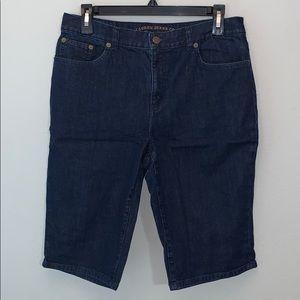 Ralph Lauren Jeans classic Bermuda shorts sz 8